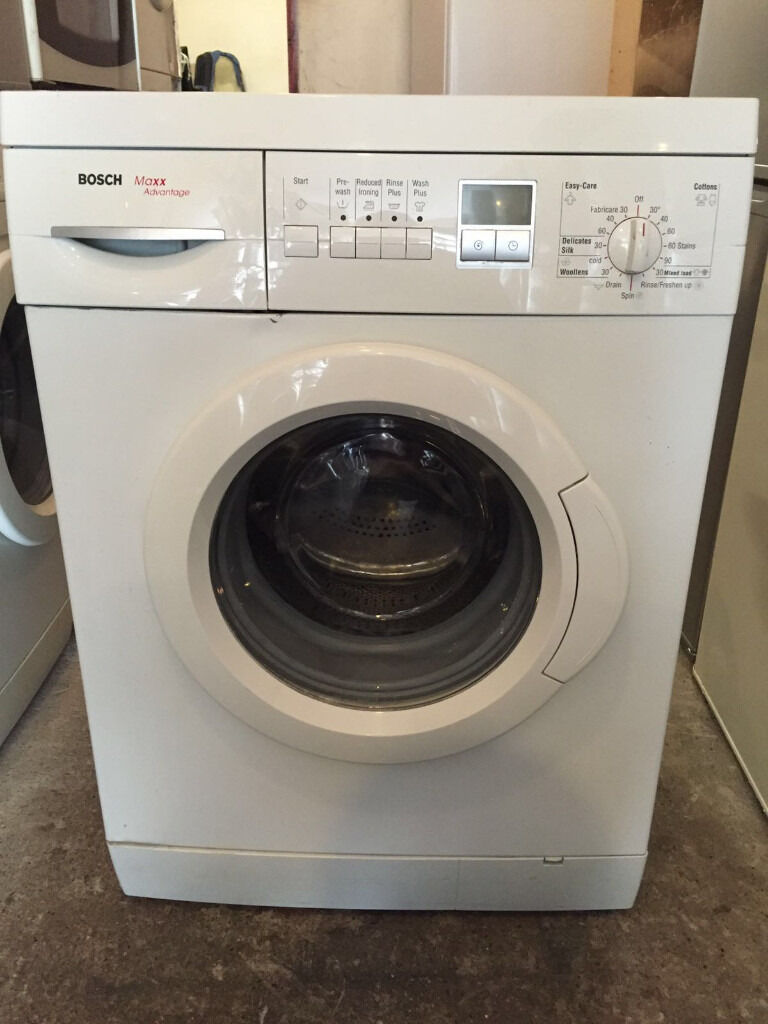 digital bosch maxx advantage washing machine fully working 4 month warranty in walthamstow. Black Bedroom Furniture Sets. Home Design Ideas