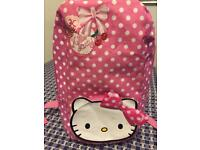 Hello kitty back pack/bag