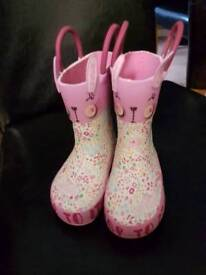 New toddler size 3 wellies