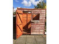 7x5 garden shed