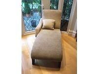 Stunning Lush Cream Beige Chaise Longue Lounge QUICK SALE