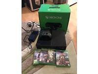 Xbox one with new controller and 4 games