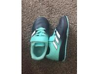 Boys AstroTurf trainers - infant size 8.5