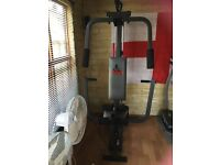 Job lot gym eqipment multi gym,running machine and bike /cross trainer