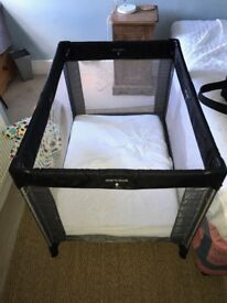 Mothercare travel cot with mattress