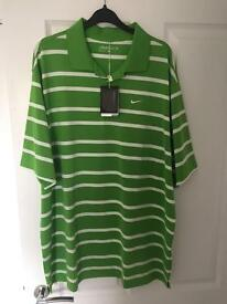 Nike dri-fit golf polo shirt XL brand new with tags