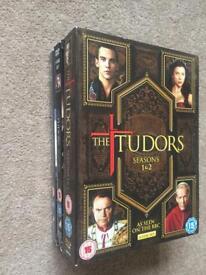 The Tudors DVD box set (Seasons 1-4, 38 episodes)
