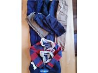 Bundle of boys' clothes, L/S tops (6-7yrs), Shorts (6yrs), Trousers (6-7yrs)