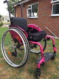 Quickie zippie childs wheelchair