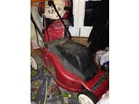 Mountfield electric lawn mower