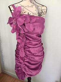 new dress uk14 pink