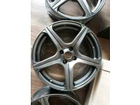 17 inch fox motorsport alloy wheels