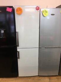 HOOVER FROST FREE FRIDGE FREEZER WITH HANDLES