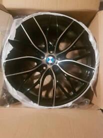 """BMW 20"""" 405 ALLOY WHEEL BRAND NEW X 1"""