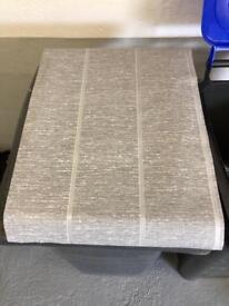 Wallpaper grey with white strip