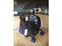 Silvercross 3D Pram / Pushchair, Parasol, Changing Bag, Raincover and Accessories Special Edition