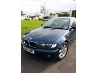BMW 320d e46 diesel AUTO *one family from new* leather ..automatic fab mpg