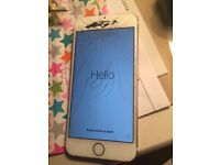 Vodafone Gold iPhone 6 16gb spares or repairs