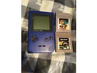 Nintendo gameboy pocket and games