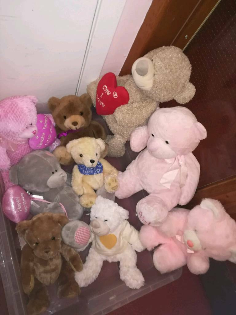 Soft Toys, Dolls, Teddies from £1