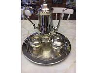 Traditional Silver Coffee Set