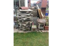 600x600x50 concrete slabs