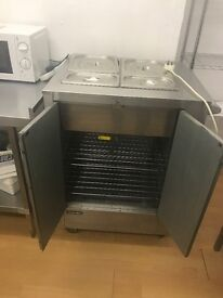 Bain Marie hot Cuboard cafe resturant hotels pubs cafe takeway pizza kebab