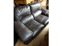 Free two, two seater sofas