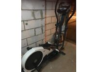 Toning table, cross trainer , n treadmill for sale
