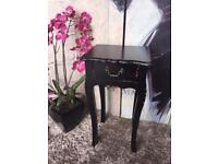 Bedside Cabinet Lamp Table One Drawer Side Table