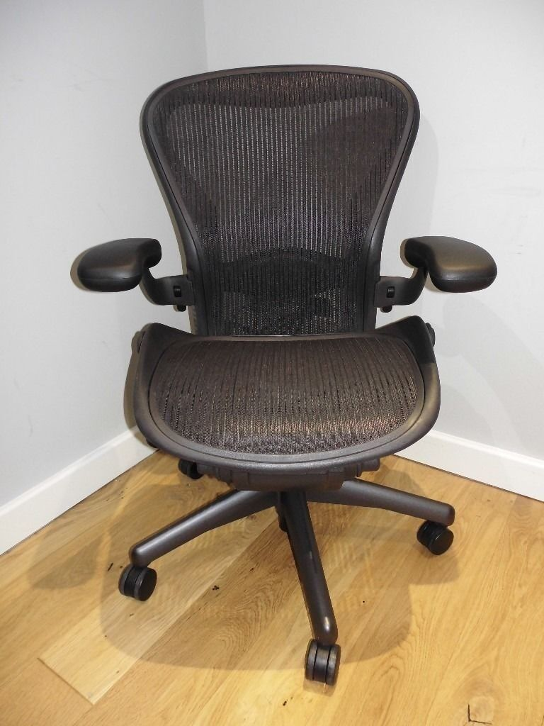 Magnificent Herman Miller Aeron Chair Size A Black Fully Loaded Excellent Condition Lumbar Available In Wokingham Berkshire Gumtree Pdpeps Interior Chair Design Pdpepsorg