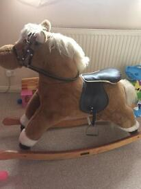 Mama and papas rocking horse
