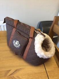 Dog carry bag