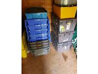 12 storage containers