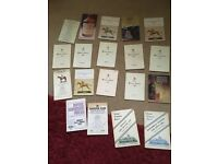 Horse racing race cards