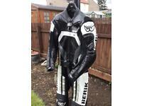 Berik 2 piece leather suit