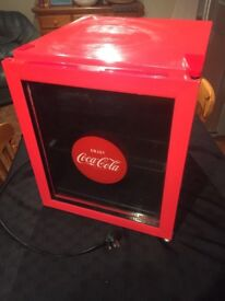 Husky Coca-Cola mini fridge