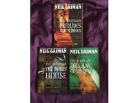 The Sandman by Neil Gaiman vol 1-3