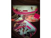 New With Tags Ted Baker Seahorse Wash Bag & Makeup Bag