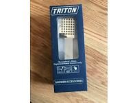 Tritan Kate Single Spray Chrome Shower Head