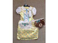 BNWT Goldilocks Costume age 3-4 years