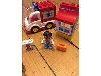 Lego Duplo ambulance set