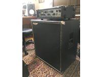 Ashdown ABM 500 EVO III Tube Head Amplifier & Ashdown MAG 410T Deep Speaker Cabinet