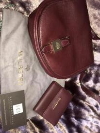 337e424c4b53 Mulberry small Tessie in oxblood with matching purse. 100% authentic.