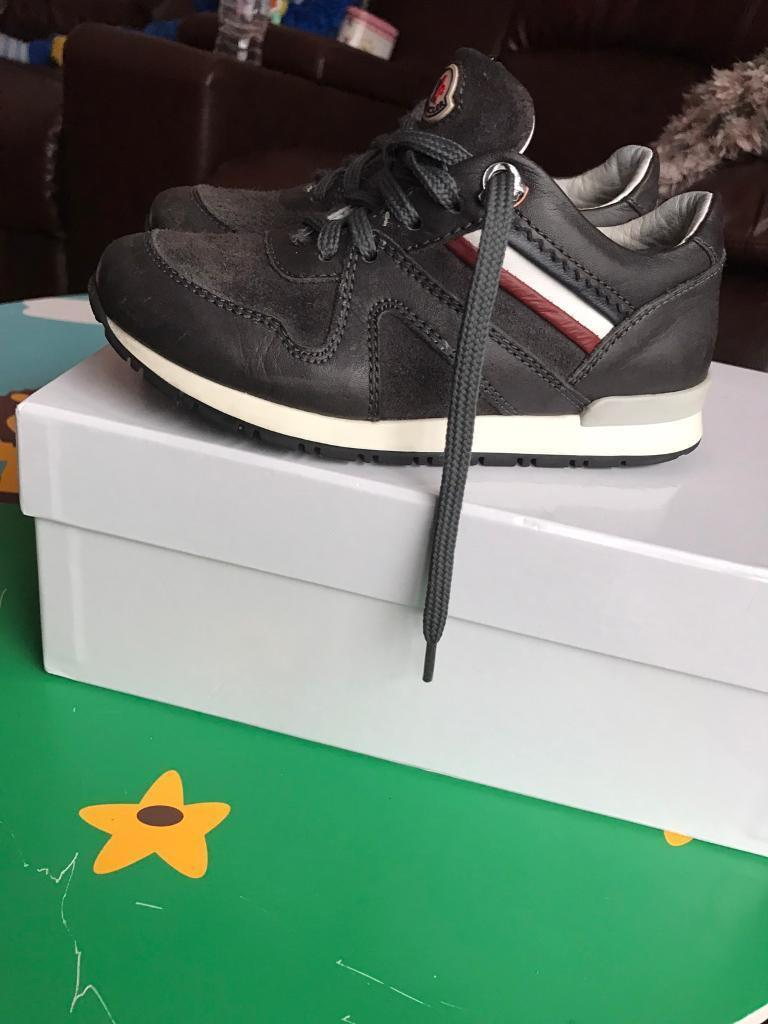 Moncler boys trainers size28 UK 10