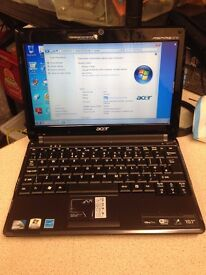 ACER ASPIRE ONE ULTRA THIN LAPTOP, WINDOWS 7