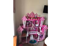 Princess Castle Doll House 💕