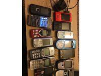 Nokia joblot phones