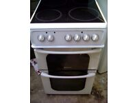 Hotpoint 50 cm ceramic hob electric cooker £75