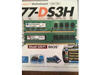 3GB DDR2 RAM (2GB + 1GB) £10ONO